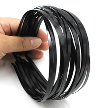 New Wholesale 10pcs Blank Plain Metal Headband 5mm Hair Band For Hair Accessories DIY Craft(China)