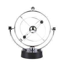 Kinetic Orbital Revolving Gadget Perpetual Motion Desk Art Milky Way Toy Office Decor Educational Science Art Home Desk Decor
