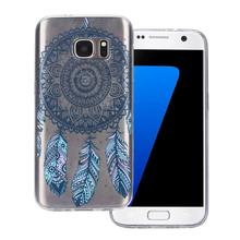 2016 fashion 12 different styles of mobile phone shell TPU Case Cover For Samsung Galaxy S7 phone styling hot sale very nice(China)