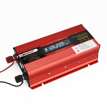1000W DC 12V to AC 230V Solar Power Inverter Car Automotive Power Converter LED Display DC and AC Voltage Aluminum Alloy