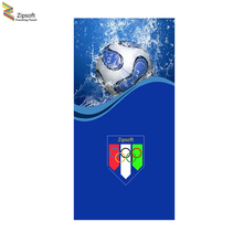 Zipsoft Large Beach Towel Fooball Olympics Bath Towels Adults Serviette Plage Sports Yoga Mat Microfiber Compressed Blanket 2017