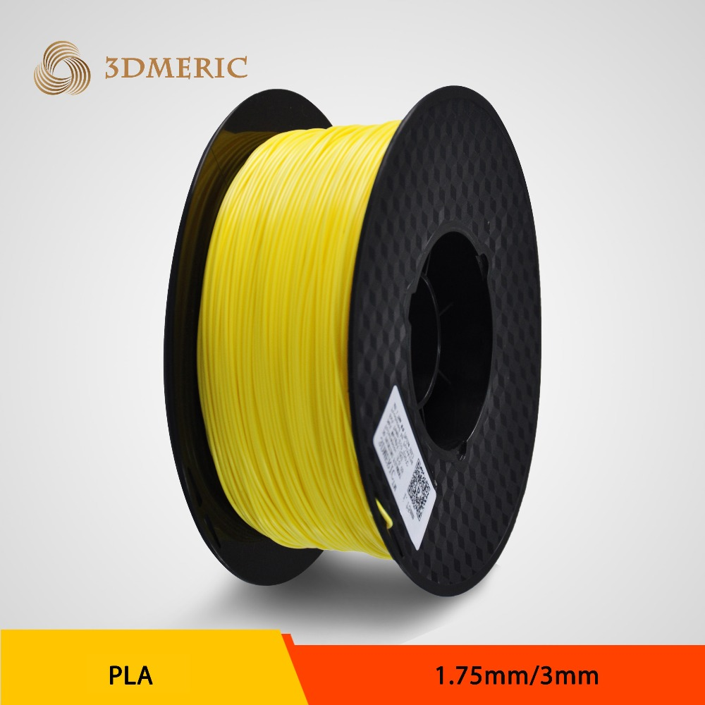 Yellow color Hot sale CE/RoHs certificated PLA filament 1.75mm filament for 3d printer extruder in china<br><br>Aliexpress
