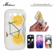 Mikoor Fashion Painted TPU Silicone Soft 4.8For Samsung Galaxy S3 Case For Samsung Galaxy S3 I9300 Cell Phone Case Cover M05(China)