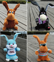 Sign shook his head donkey ears singing plush toys electric