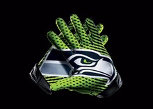 Seattle Seahawks Sport Team Products Gloves 3x5 ft flag 100D Polyester flag 90x150cm(China)