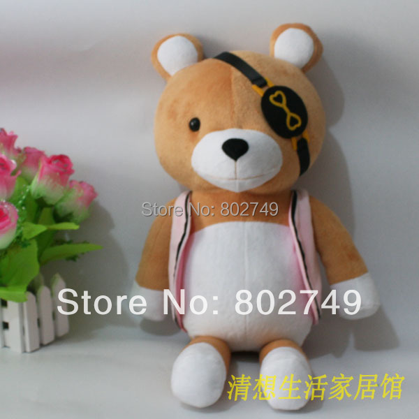 DIABOLIK LOVERS Kanato Sakamaki Bear Plushie 100% Handmade Stuffed Plush Toy Cosplay Props 54cm Big Size<br><br>Aliexpress