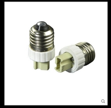 10pcs PBT E27 To G9 Lamp Holder Converter(China)