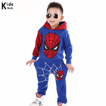 RT-183 Children sports cartoon clothing from cotton suit for boys Fashion clothing sweater Pants, children clothes set