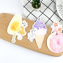 30 pcs/lot Cute Ice cream dessert heteromorphism postcard greeting card christmas & birthday message card gift cards