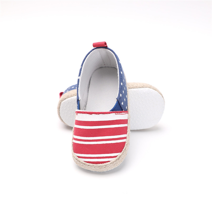Baby Girl Shoes Toddler Infant Baby Girl Dot Striped Crib Shoes Soft Sole Anti-slip Single Shoes Baby First Walker Shoes M30#F (16)