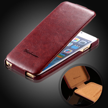 FLOVEME For iPhone 6 6S Case Thin Leather Flip Case For Apple iPhone 6 iPhone 6S Capa Vertical Phone Cases Cover For iPhone 6 6S(China)