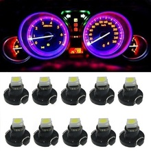 10pcs T3 Led Neo Wedge SMD Dashboard Instrument Cluster Light Car Panel Gauge Speedo Dash Bulbs blue red green white yellow 10X