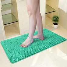 Newest Anti Slip Bathroom Mats Shower Mat Bathroom Bathtub Massage Pad Safety Suckers Hollow Out Bathroom Rugs Kids(China)