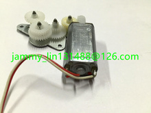 Free post original FF-050SH-11190 RD140303 D/V 5.9 CD/DVD motor with gears for car audio mechanism spindle motor