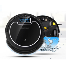 dry /wet mopping robot vacuum cleaner B005 , AUTO cleaning and charging smart and high quality for kinds of floors(China)