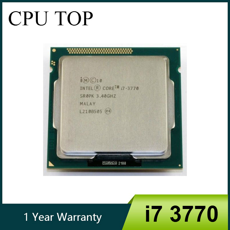 Intel i7 3770 Quad Core 3.40 Ghz Ivy Bridge Desktop Processor  LGA 1155