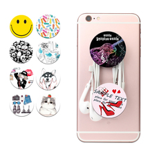 POP marble Moblie Phone Holders and Stands Phone Wire Wrapping for Smartphones & Tablets