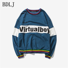 BDLJ 2017 New Man Hoodies Hip Hop Street wear Sweatshirts Skateboard Men/Woman Pullover Hoodies suprem Male Sweatshirt 5XL