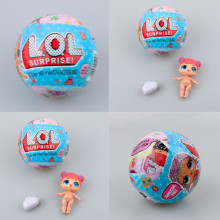 LOL Surprise L.O.L. Dolls Magic Funny Removable Egg Ball L.O.L Surprise Dolls Series 2 Charm Fizz Ball New In Box For Kids Toys
