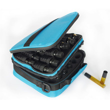 42 Slot Double-Layer Portable Shock Resistant 15ml Essential Oil Bottle Nail Polish Rangement Carrying Case Bag Travel Organizer(China)