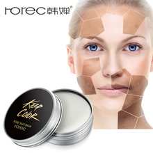 ROREC Face Foundation BBCream Silky Matte Finish Invisible Concealer Face Contour Palette Primer Makeup Base Isolation Whitening