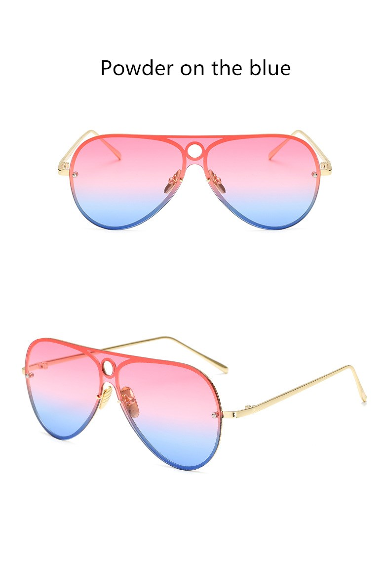 GLTREE Brand Designer Sunglasses Women Metal Pilot Frame Vintage Sun Glasses For Female Male Fashion Eyewear Glasses Oculos G73