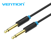 Vention Aux Guitar Cable 6.5 Jack 6.5mm to 6.5mm Audio Cable 6.35mm Aux Cable for Stereo Guitar Mixer Amplifier Speaker cable(China)