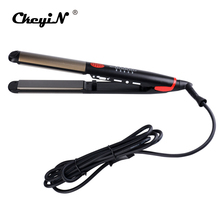 Top Quality Hair Straightening Flat Irons LED Professional Hair Straightener Curling Tongs Hair curlers Styling Tool With Lock28(China)