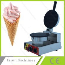 110V/ 220V Electric commercial ice cream cone waffle making machine;egg waffle maker
