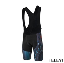 Teleyi 2017 Team Racing Sport Cycling Shorts Men Coolmax 4D Gel Padded mtb Raod Bike Shorts Shockproof Breathable Bicycle Shorts