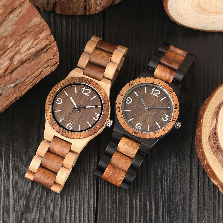 Men\`s Retro Full Wooden Creative Watch Man Quartz Novel Wood Sports Watches Mens Genuine Leather Hour Clock Gifts Reloj Hombre (13)
