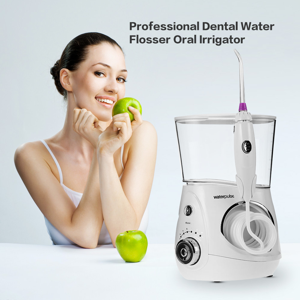 Waterpulse V660 Professional Dental Water Flosser Oral Irrigator Water Jet Faucet Dental Floss Irrigation Oral Care Teeth Spa<br>