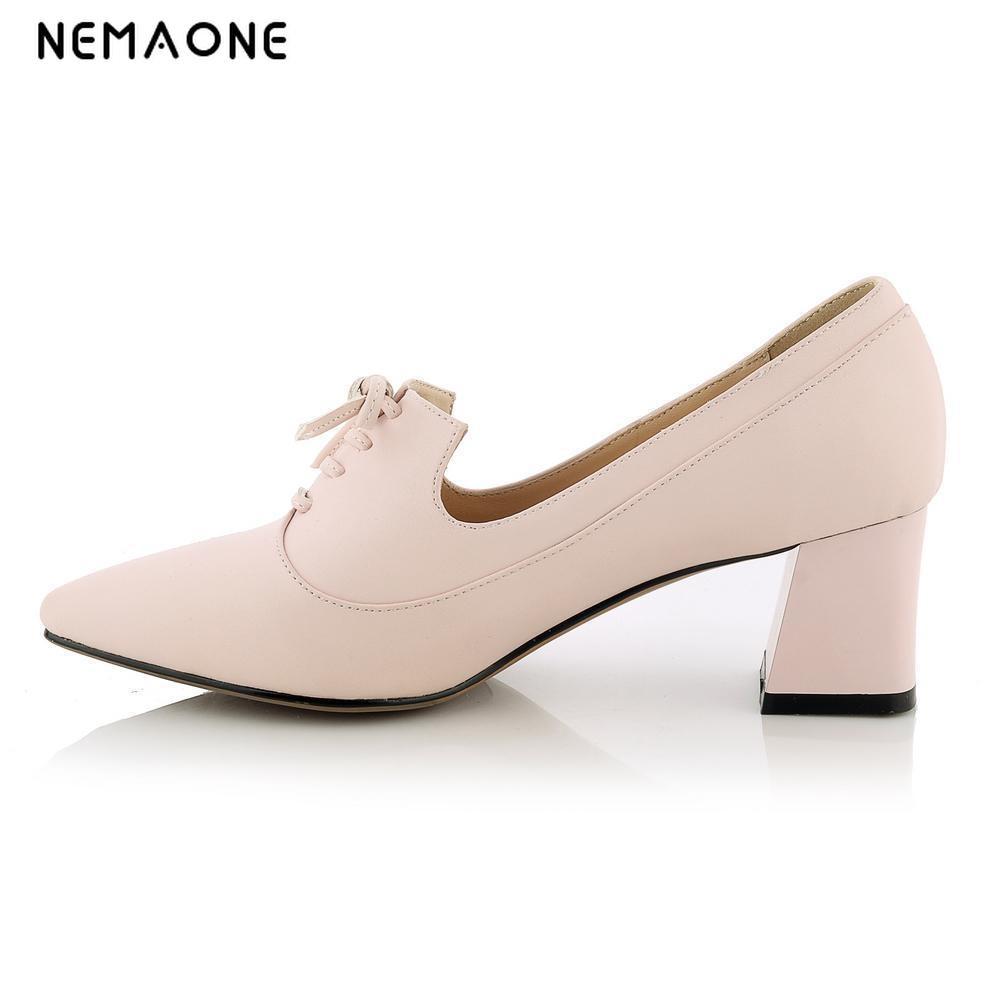 2017 autumn women high heels shoes poined toe shoes woman mature dress shoes casual women pumps<br>