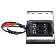18 IR LED Night Vision Car Rear View Backup Parking Reversing Camera 150 Degree Wide Angle Waterproof for 24V Truck Coach Bus