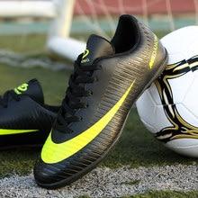 ZHENZU botas de futbol profesional hombres niños Turf Soccer Shoes Original  Superfly Futsal botas De fútbol zapatillas b189fe2571daf