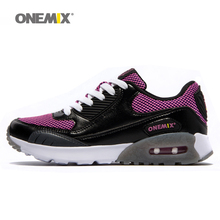 cheap discount onemix outdoor trainer shoes lady sport walking shoes women popular increasing running run shoes men size 36-45(China)