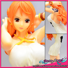 Original BANPRESTO Glitter & Glamours ONE PIECE FILM GOLD Collection Figures - Nami Movie Style (White Dress ver.)