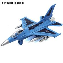 Big Size F15 Fighter Alloy Airplane Pull Back Electronic Music Diecast Metal Fighter 19cm Flashing Simulation Plane Model Toys
