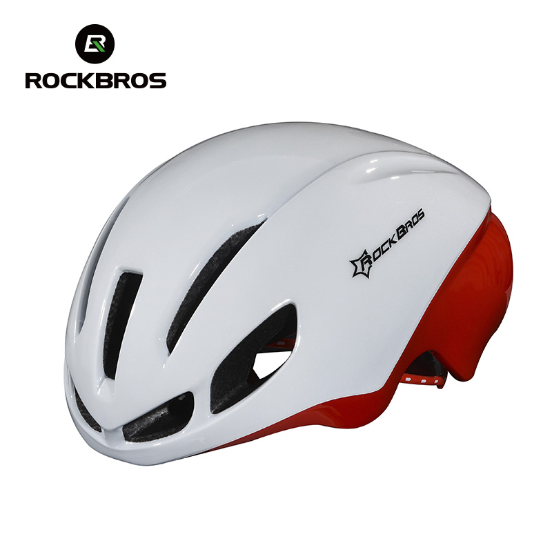ROCKBROS New Jet-propelled Tail Ultralight Cycling Helmet Integrally-molded Road Mountain MTB Bike Bicycle Helmet Casco Ciclismo<br>