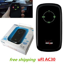 Free shipping Wifi router ZTE AC30 WCDMA CDMA/EVDO 3G wifi-SIM card wireless router with 1500mah power bank