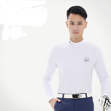 Men's Long-sleeve T-shirt Straitest Elastic Thermal Underwear Basic Shirt Free Shipping