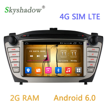 2G RAM Android 6.0.1 Car DVD Player GPS Navi For Hyundai Ix35 2009 2010 2011 2012 2013 2014 2015 Radio Video Capacitive Wifi 4G