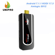 H96 Pro Mini PC KODI 17.3 4K Smart TV Dongle Android 7.1.1 Amlogic S912 2GB/8GB WIFI Bluetooth 4.1 HEVC H.265 Decoding VP9 HDR