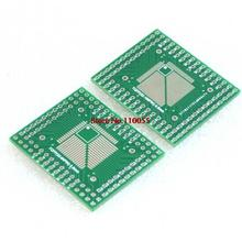 F05240 5Pcs FQFP TQFP 32 44 64 64 64 LQFP SMD Turn Dip 0.5/0.8 mm Adapter Plate +