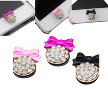New Multicolor 3D Crystal Bling Diamond Home Button Sticker For iPhone 4s 5 5s 6 Cute Mobile Phone Accessories Phone Stickers