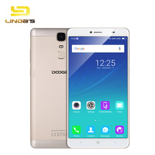 "DOOGEE Y6 Max 6.5"" 1920*1080 4G Fingerprint 4300mAh Smartphone Android 6.0 MTK6750 Octa Core 1.5GHz 3GB + 32GB 13MP mobile phone"