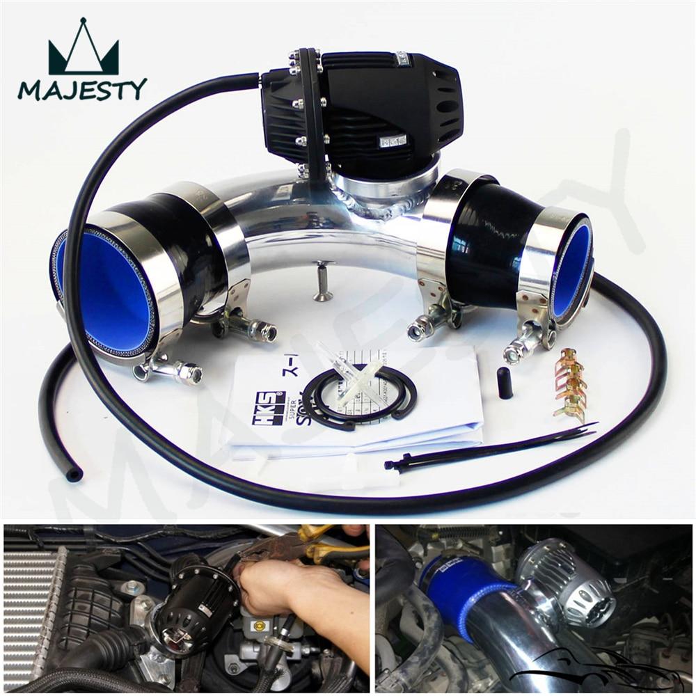 Черный SQV предохранительный клапан BOV IV 4 комплект турбо труба для HYUNDAI GENESIS COUPE 2 0 T