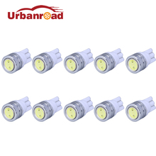 10pcs/lot T10 W5W LED Bulbs 194 168 COB Xenon White Parking Interior Side Dashboard License Light Lamp Car Styling(China)