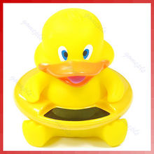 Cute Animal Bath Tub Baby Infant Thermometer Water Temperature Tester Toy Duck -Y122(China)