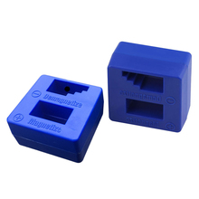 Nice 1 Piece Magnetizer Demagnetizer Tool Blue Screwdriver Magnetic Pick Up Tool Screwdriver